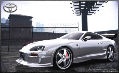 TOYOTA SUPRA TUNING BY CRIME