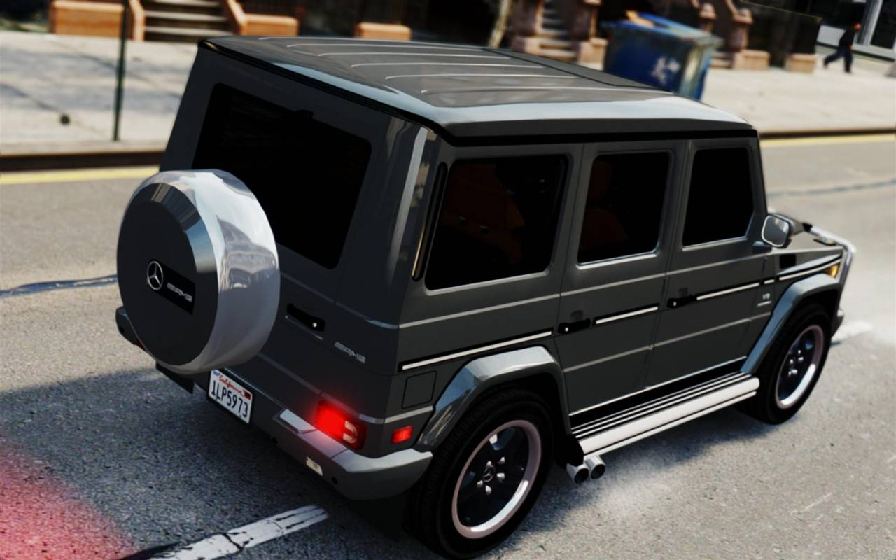 Mercedes Benz G55 AMG 2008 Remake скачать, GTA 4