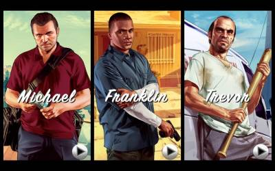 Новые трейлеры GTA 5: Michael, Franklin, Trevor